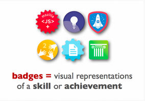 Open badges for skills and achievements