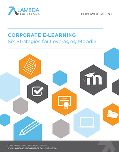 Corporate Learning Moodle