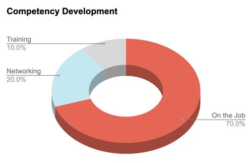 Blog CBT - Competency Development Pie Chart