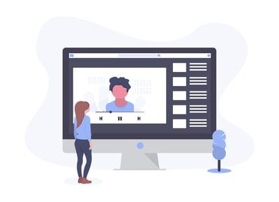 Blog Moodle Video Interactive content - cloud based video platform