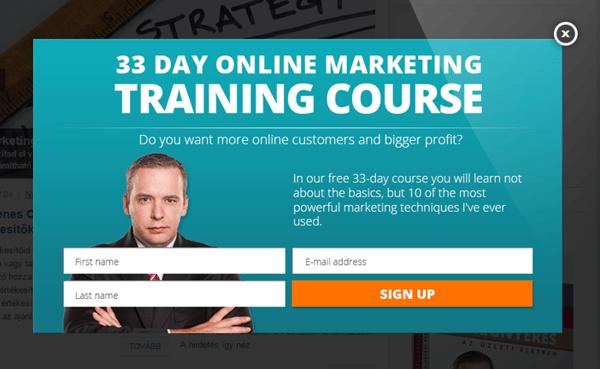 Blog Online Marketing Training Course Example