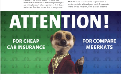 Blog integrated marketing - print example