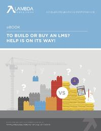 Build Or Buy LMS