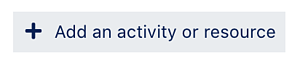 Add Activity or Resource-1