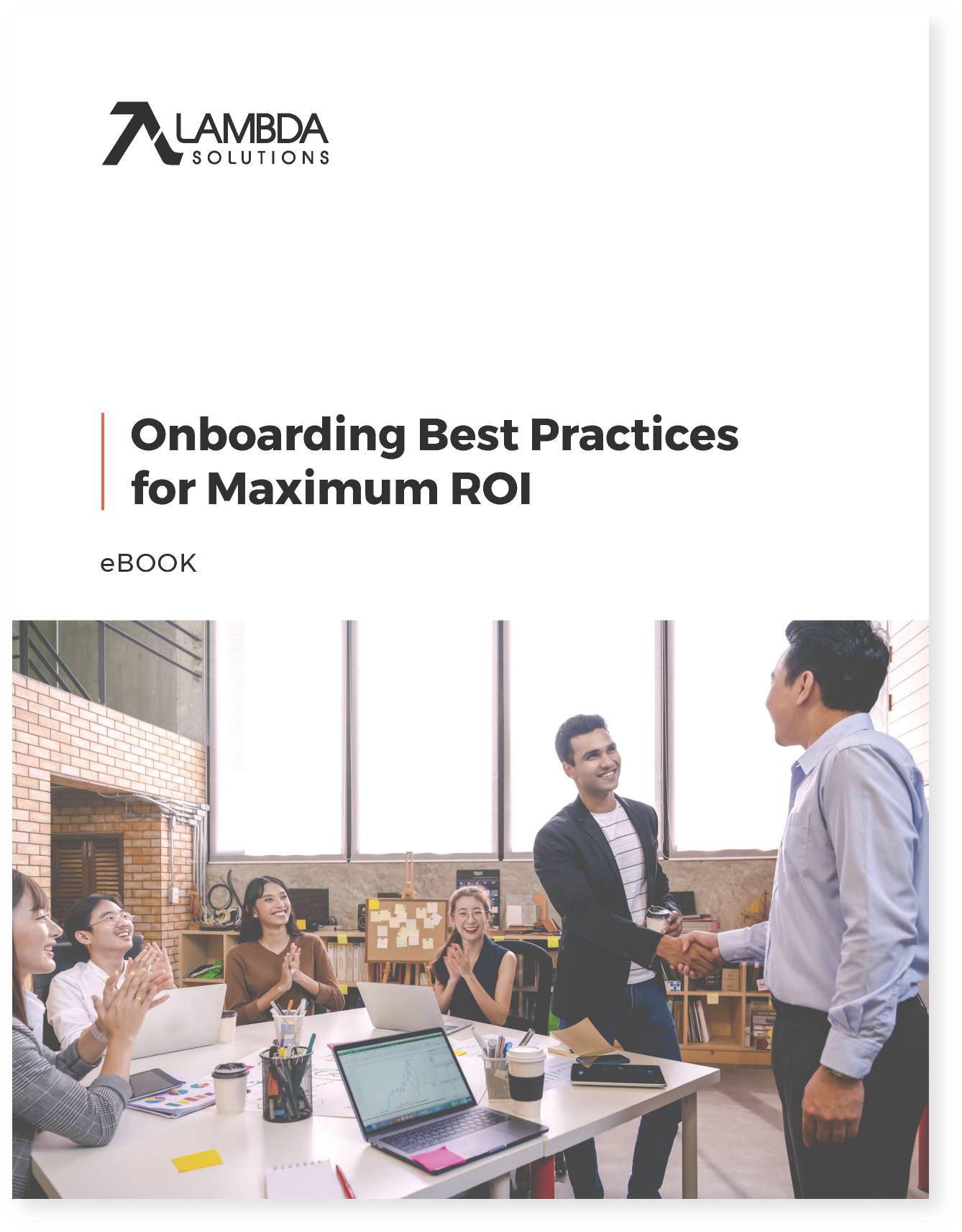 image thumbnail eBook Onboarding Best Practices Maximum ROI Cover