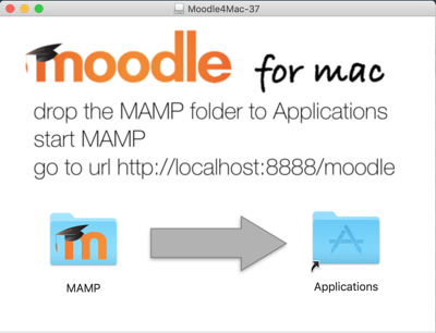 image Install Moodle for Mac screenshot