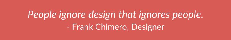Quote - Frank Chimero - designer
