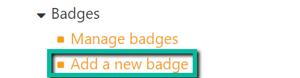 badgesaddanewcoursebadge
