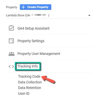 googleanalyticstrackinginfotrackingcode