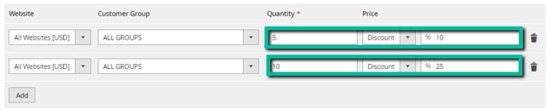 image screenshot group discount price