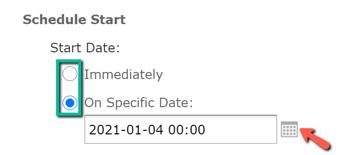 reportschedulingschedulestart