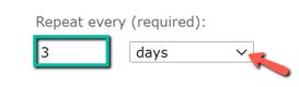reportschedulingsimplerepeatevery