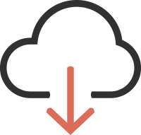image icon cloud hosting