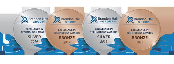 image logos brandon hall awards 2016-2019