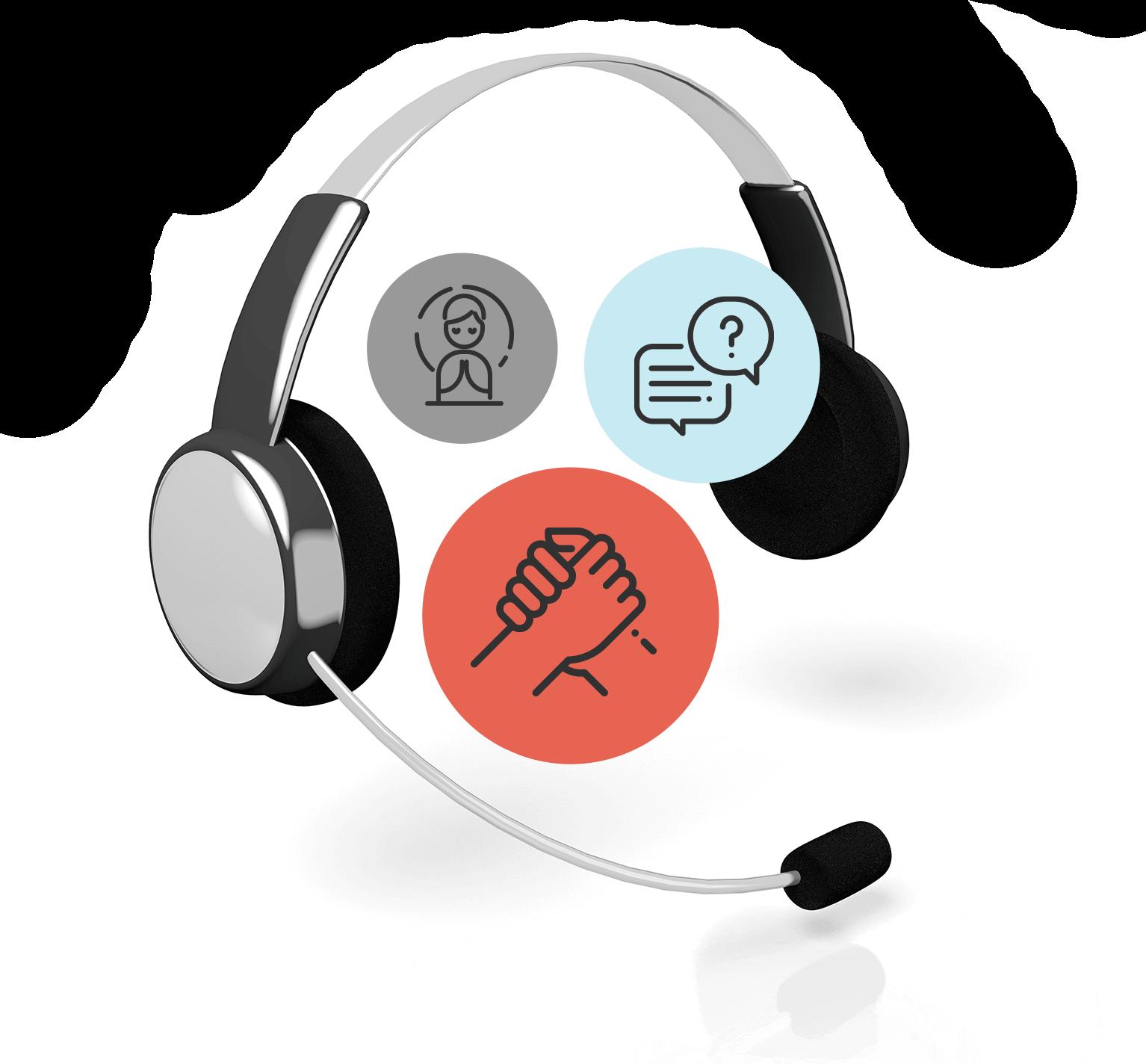 image headphone concept graphic