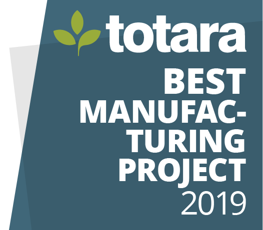 image logo totara badge 2019 best manufacturing project